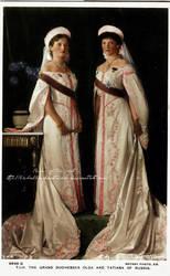 Olga and Tatiana in 1913 . by La-Bella-Devotchka