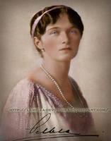 Grand Duchess Olga in 1914 . by La-Bella-Devotchka
