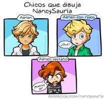 Tipos de chicos by NancySauria