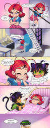Comic Tikky Y Plagg by NancySauria