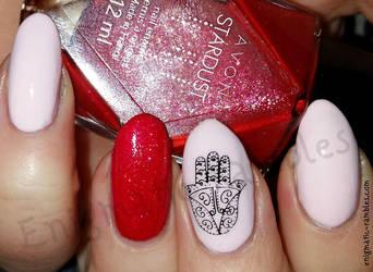 Hamsa Hand Nails by EnigmaticRambles