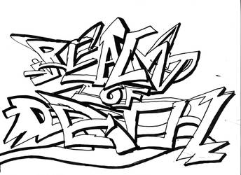 Graffiti 2 by Mystic-Majinbuu