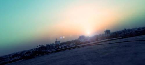 Sunset by Mystic-Majinbuu