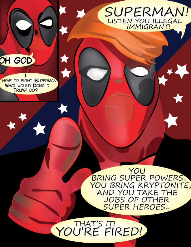 World's Strangest Issue #2 Pg #3 (TRUMPpool) by ProjectCornDog