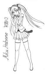 Hatsune Miku by SuspectNrOne