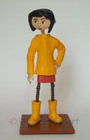 Coraline Jones Figure by Alistu