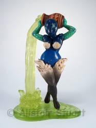 Water Elemental Sprite Model by Alistu