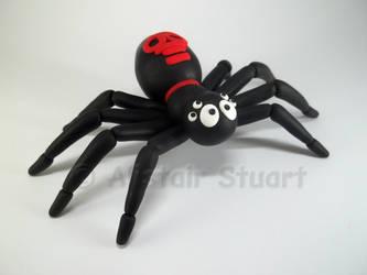 Halloween Spider by Alistu
