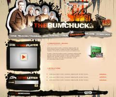 The_bumchucks - band homepage by fee3R