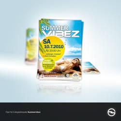 Summervibez Flyer by fee3R