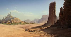 Golden desert by 1Ver4ik1