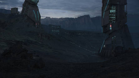 Sci Fi Environment by 1Ver4ik1