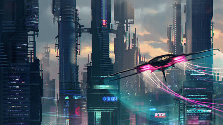 Sci Fi Environment 2 by 1Ver4ik1