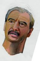 Vicente Fox Head by kazanjianm