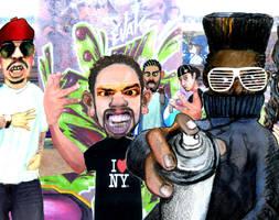Graffiti Character by kazanjianm