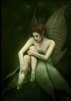 A faery fading away by Luk999