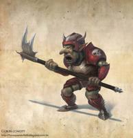 Goblin concept by Luk999