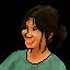 Pixel Portrait (Claire) by fax-celestis
