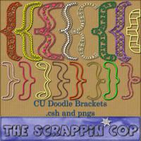 Doodle Bracket Shapes by debh945