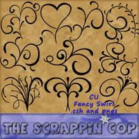 Fancy Swirl Shapes by debh945