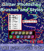 Glitter Brushes and Styles by debh945