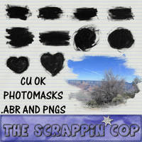 Photo mask brushes by debh945