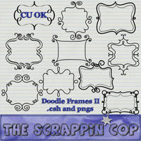 Doodle Frame Shapes by debh945