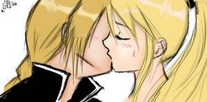 fullmetal kisses by RadicalEdward13
