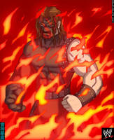 Kane: Through the Flames by TheALVINtaker