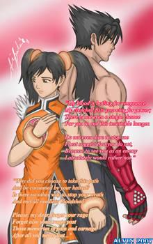 Tekken 6: Jin X Xiaoyu by TheALVINtaker