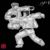 Karate, anyone? by TheALVINtaker