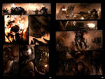 Shrapnel Pages set III by Luches