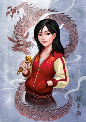 Casual Mulan by Luches