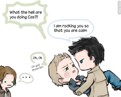 Relax Dean, relax by Nile-kun