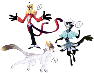 Some random adopts OPEN by LionMushrooms