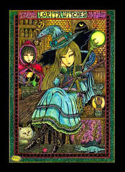 Lorita Witches by sawsin