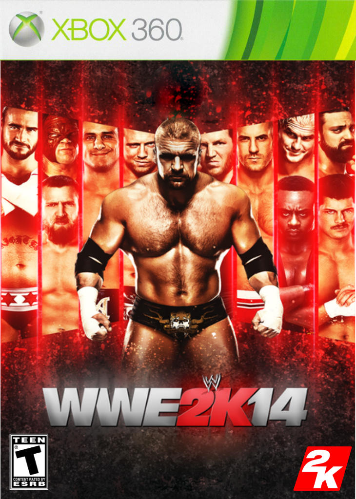 WWE 2K14 Custom Cover (Xbox 360) by yelson5