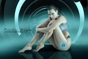 Cyborg by priscilasamalot