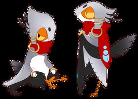Trunks - MYO Birdfolk [Approved] by BirdFeets