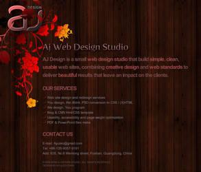 AJ Web Design Studio by Ayuleo