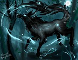 Wolf's Echo by Sammirureka