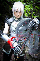 Dragon Age 2 -Broody elf by love-squad
