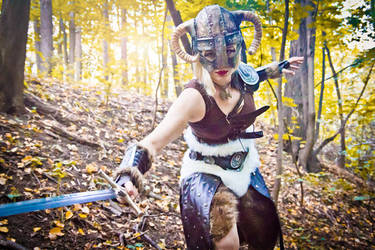 Charge, dragonborn! -  TES:Skyrim by love-squad