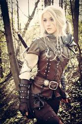 The Witcher Saga - Cirilla by love-squad