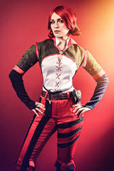 Triss Merigold - The Witcher: Wild Hunt by love-squad