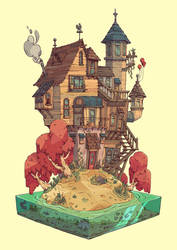 Dreamhouse by tom-monster
