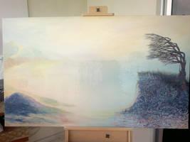 wip Tree of Life by EvaGataArtist