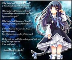 Frederica Bernkastel Poem by Shinjin-sama
