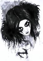wonderland: painted in black by rionka