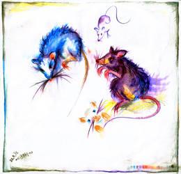 rats! rats! rats! by rionka